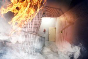 שריפה בדירת מגורים